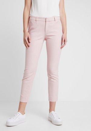 SLOAN RAILROAD STRIPE - Spodnie materiałowe - party pink