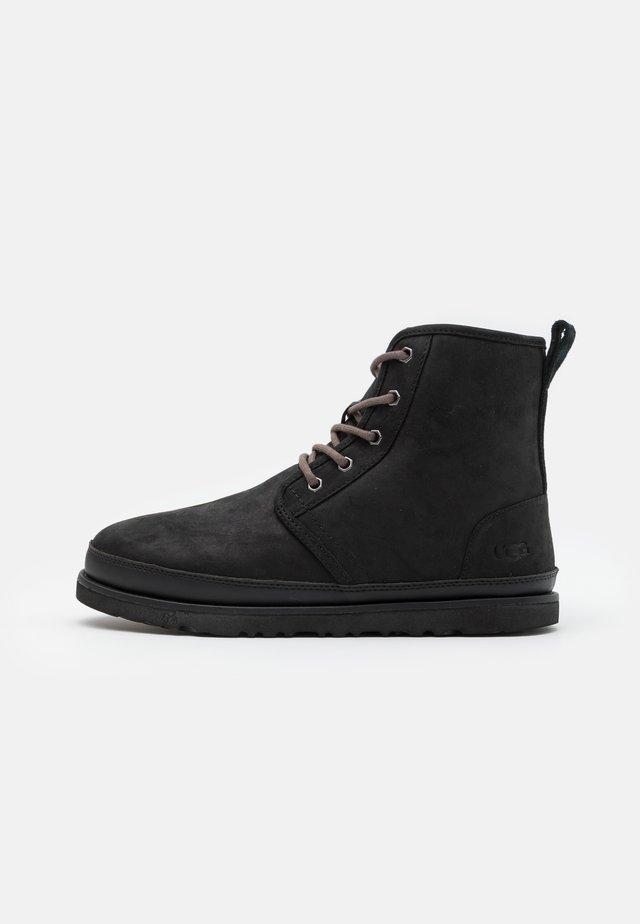 HARKLEY WATERPROOF - Bottines à lacets - black