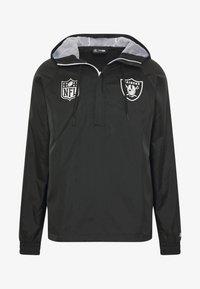 New Era - NFL WINDBREAKER OAKLAND RAIDERS - Klubové oblečení - black - 4