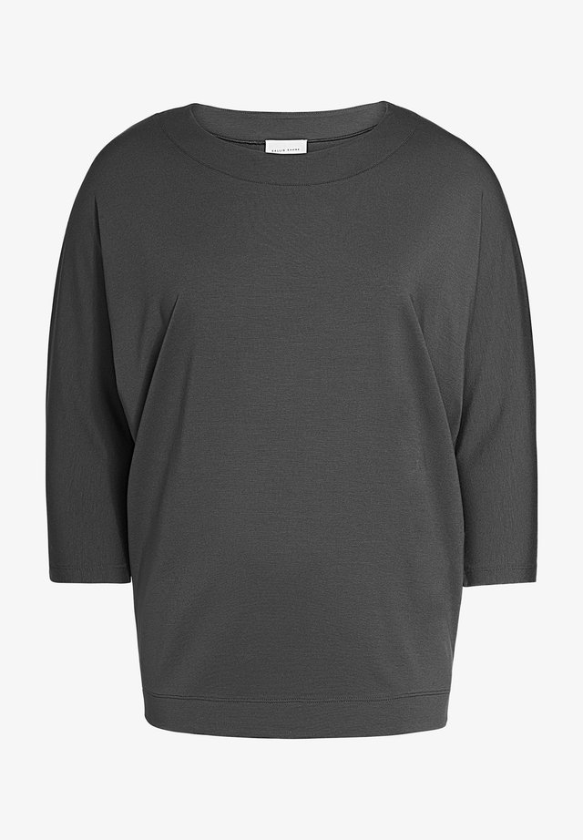 Long sleeved top - graphite