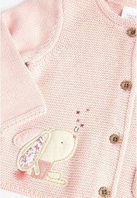Next - BUNNY EMBROIDERED CARDIGAN (0MTHS-2YRS) - Vest - pink - 2