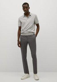 Mango - Poloshirt - gris - 1