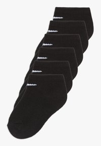 Nike Sportswear - BASIC NO SHOW 6 PACK - Socks - black - 0