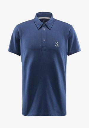 MIRTH POLO - Polo shirt - tarn blue