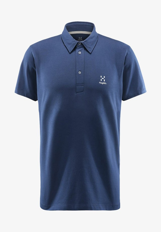 MIRTH POLO - Polo shirt - tarn blue