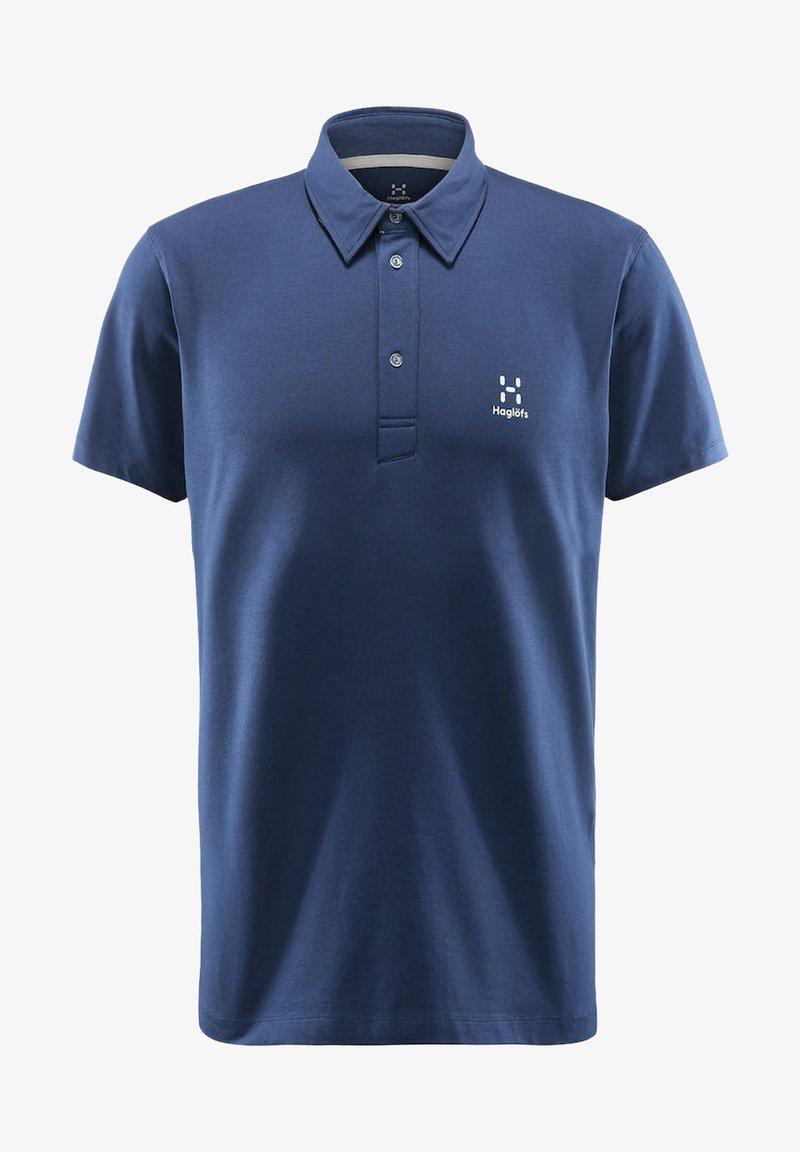 Haglöfs - MIRTH POLO - Polo shirt - tarn blue