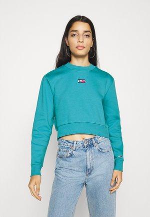 CROP TINY - Sweatshirt - tidewater