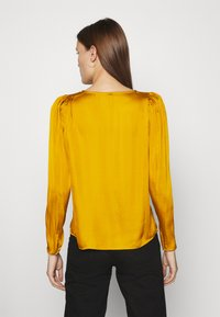 Banana Republic - PUFF SLEEVE SOFT - Blouse - dark yellow