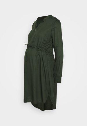 MLZION LIA DRESS  - Jerseyjurk - duffel