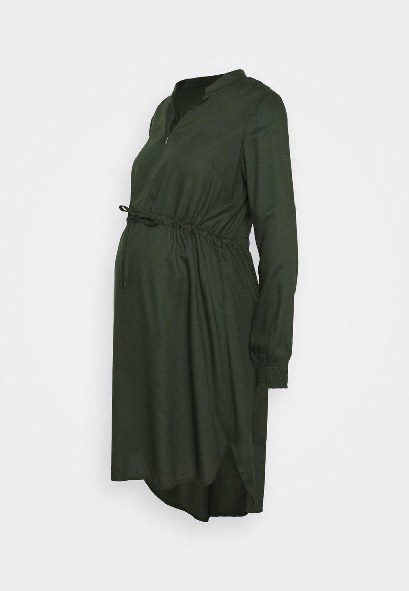 MAMALICIOUS - MLZION LIA DRESS  - Vestido ligero - duffel