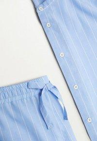 Mango - Pyjama top - blauw - 7