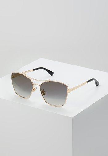 KIMI - Sunglasses - gold-coloured/black