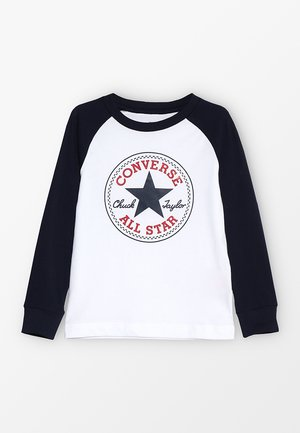 CHUCK PATCH RAGLAN  - Camiseta de manga larga - white