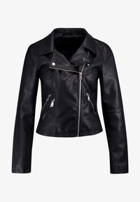 ONLY - ONYFILIPPA - Faux leather jacket - black - 4