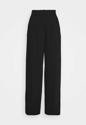 KELLY TROUSER - Trousers - black