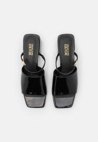Versace Jeans Couture - Mules à talons - black - 4