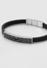 Emporio Armani - LOGO PLAY BRACELET - Bracelet - silver-coloured - 2