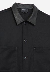 The Kooples - COL CUIR - Shirt - black - 8
