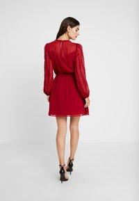 NAF NAF - LATROUSSO - Day dress - rouge dorient - 3