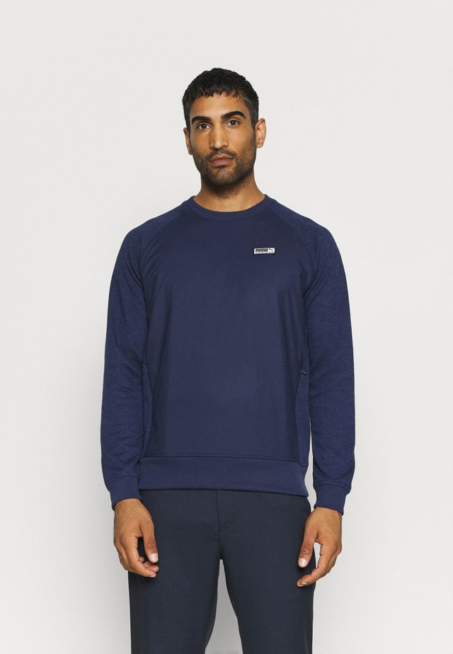RUNWAY CREW - Strikpullover /Striktrøjer - peacoat heather