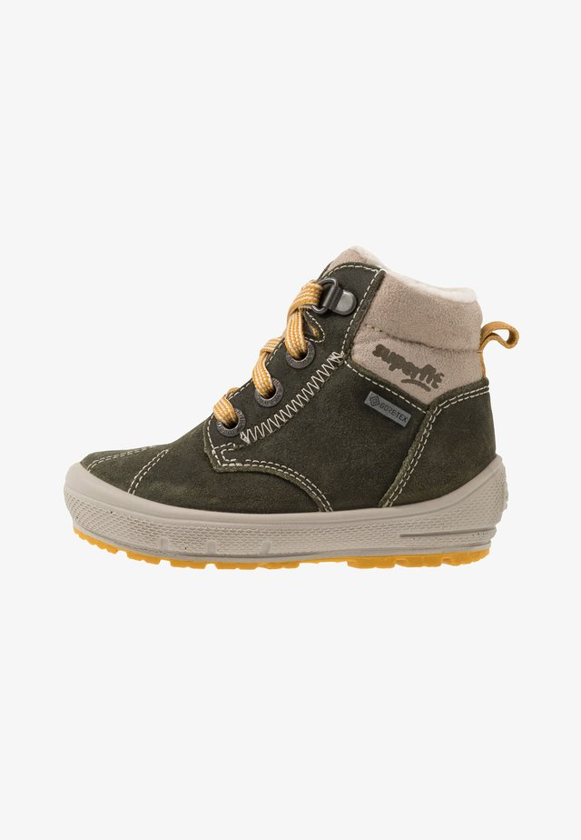 GROOVY - Zimní obuv - grün/beige/gelb