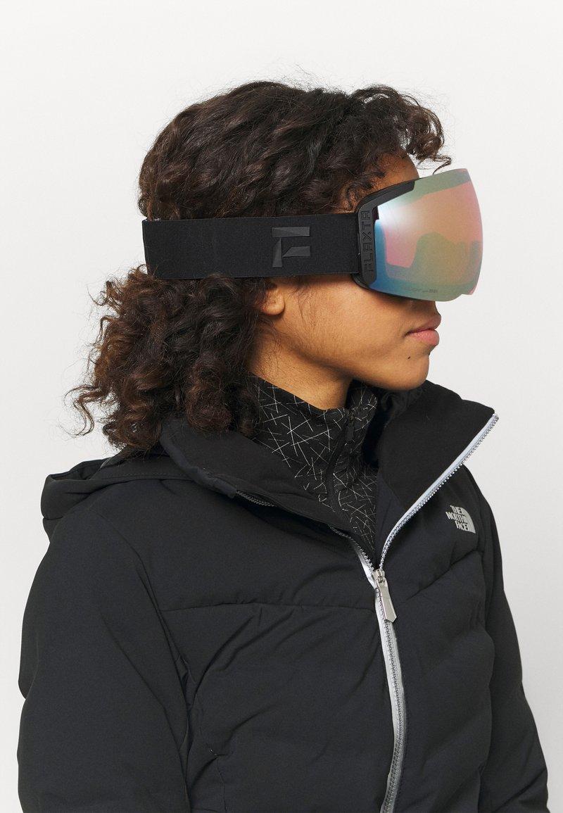 Flaxta - EPISODE UNISEX - Ski goggles - black