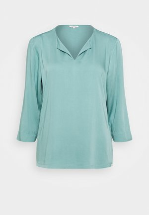 Blouse - mineral stone blue