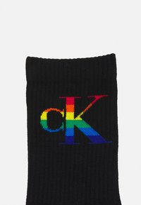 Calvin Klein Underwear - WOMENS PRIDE CREW ZETA - Socks - black - 1
