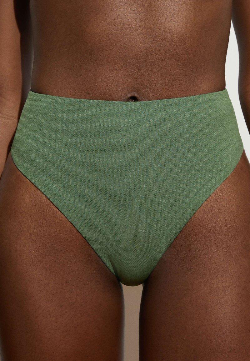 OYSHO - Bikini bottoms - khaki