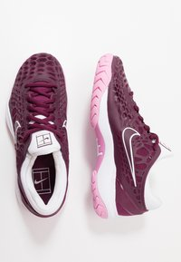 Nike Performance - AIR ZOOM CAGE HC - Tenisové boty na všechny povrchy - bordeaux/pink rise/white - 1