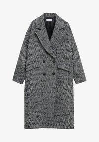 Mango - IN WICKEL-OPTIK - Classic coat - schwarz - 5