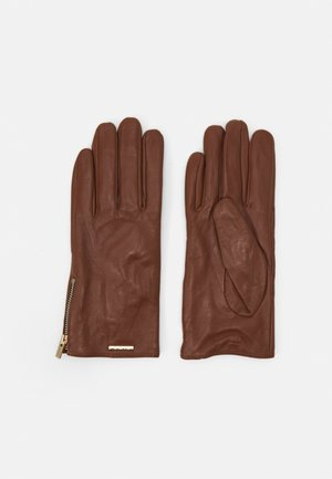 RHELIAN - Gloves - cognac/gold-coloured