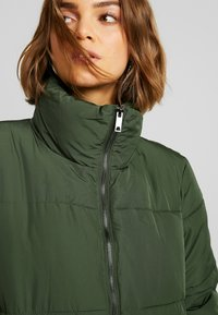 JDY - Classic coat - rifle green - 3