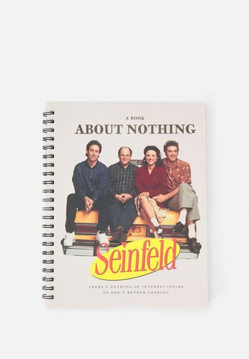 A4 CAMPUS SEINFELD BOOK ABOUT NOTHING 2 PACK UNISEX - Other accessories - multi-coloured