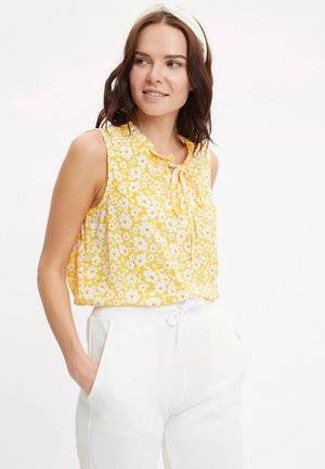 Blouse - yellow