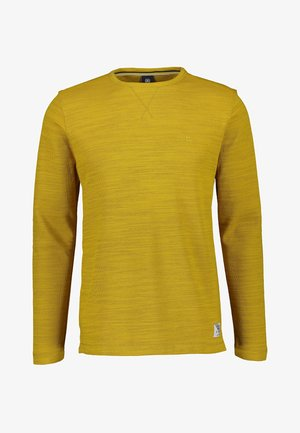 Long sleeved top - oily yellow