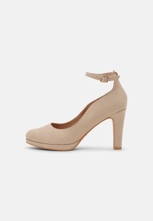 COMFORT - High heels - beige