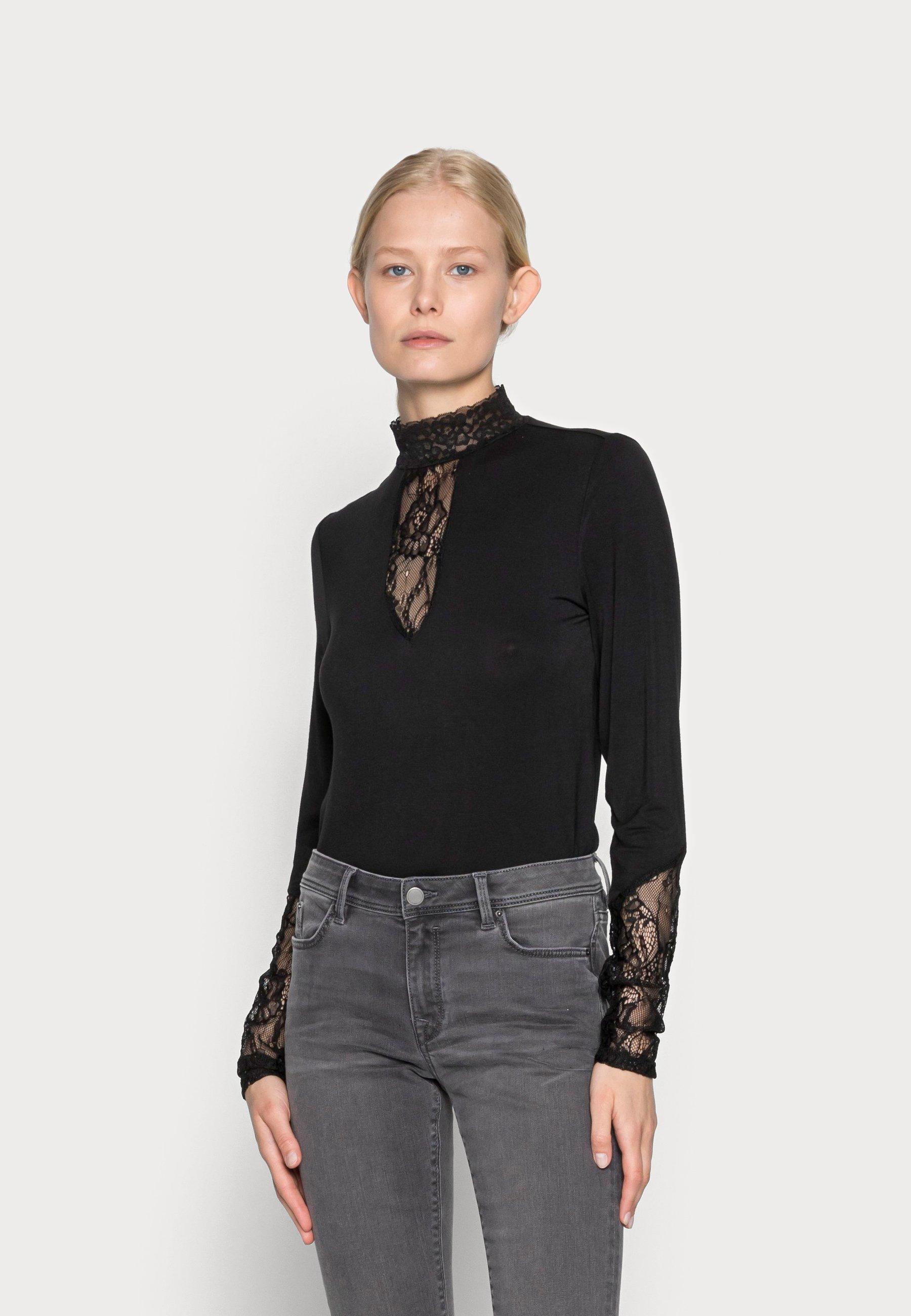 Femme BLOUSE - T-shirt à manches longues