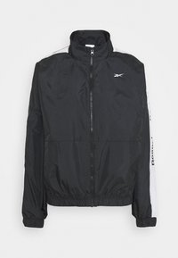 Reebok - LINEAR LOGO JACKET - Veste de survêtement - black - 6