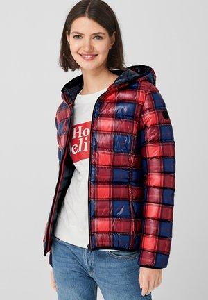 MIT ALLOVER-PRINT - Winter jacket - red