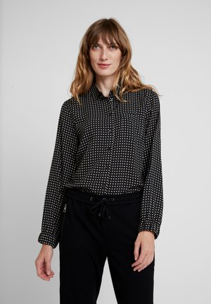 Button-down blouse - combo