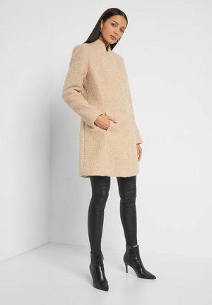Classic coat - desert beige