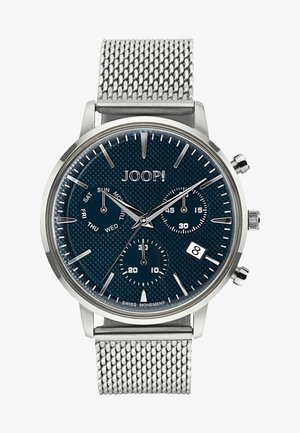 Watch - silver/blue