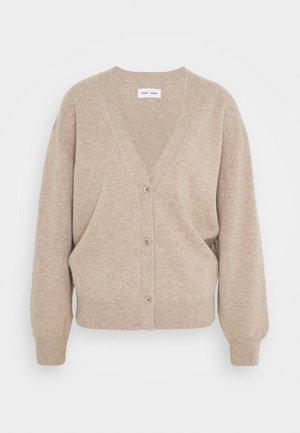 AMARIS SHORT  - Cardigan - beige melange