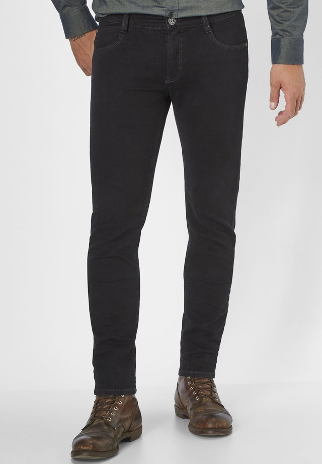 DEAN - Slim fit jeans - black/black