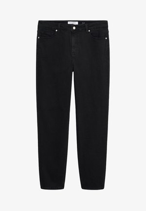 ELY - Relaxed fit jeans - black denim