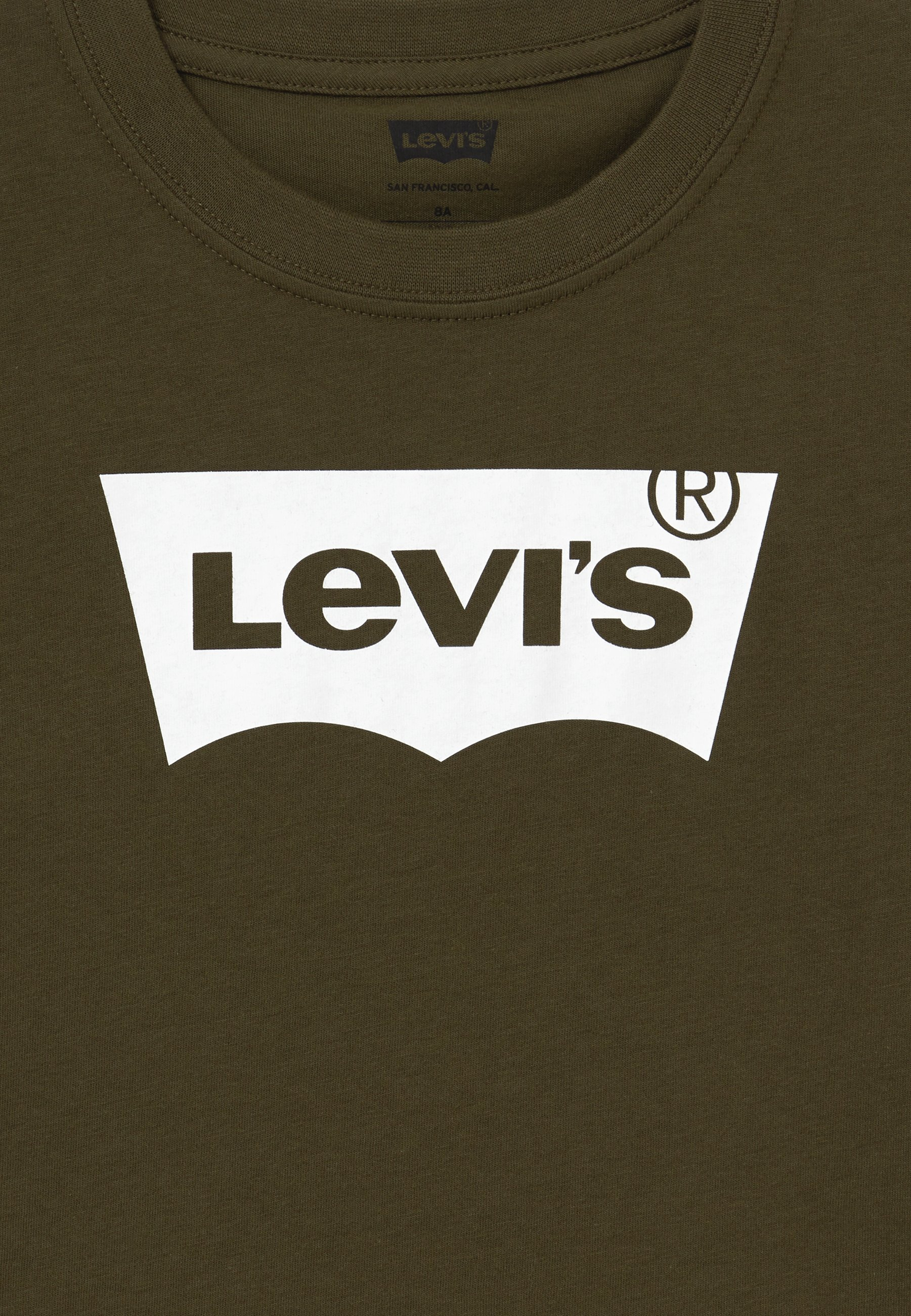 Levi's® Batwing Tee - T-shirts Med Print Olive Night