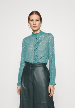 GARDEN BLOUSE - Bluser - dusty blue