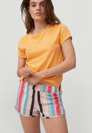Print T-shirt - blazing orange