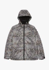 SuperRebel - SKI TECHNICAL JACKET ALL OVER - Snowboard jacket - beige - 0